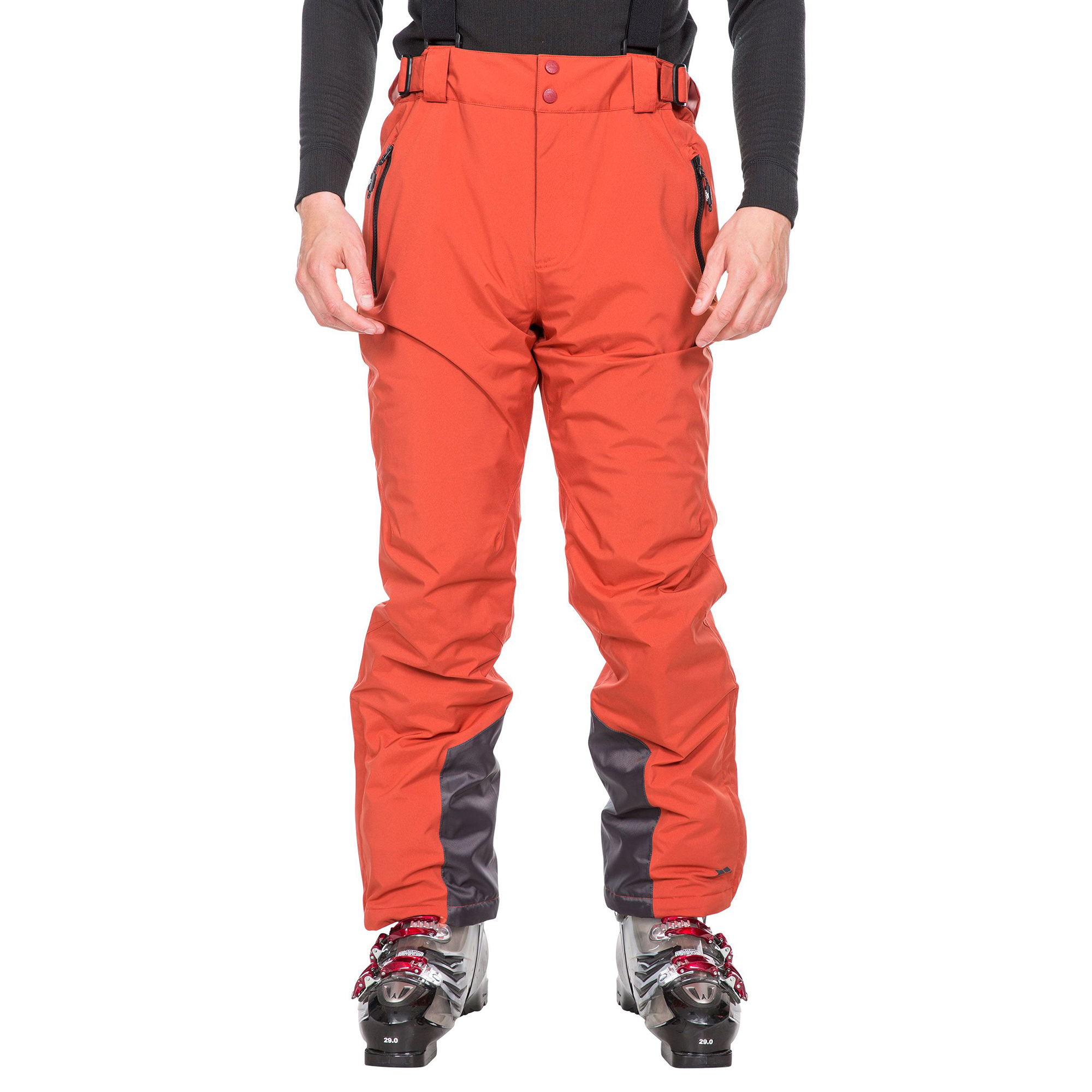 Trespass Mens Trevor Ski Trousers (M) (Spice Red)