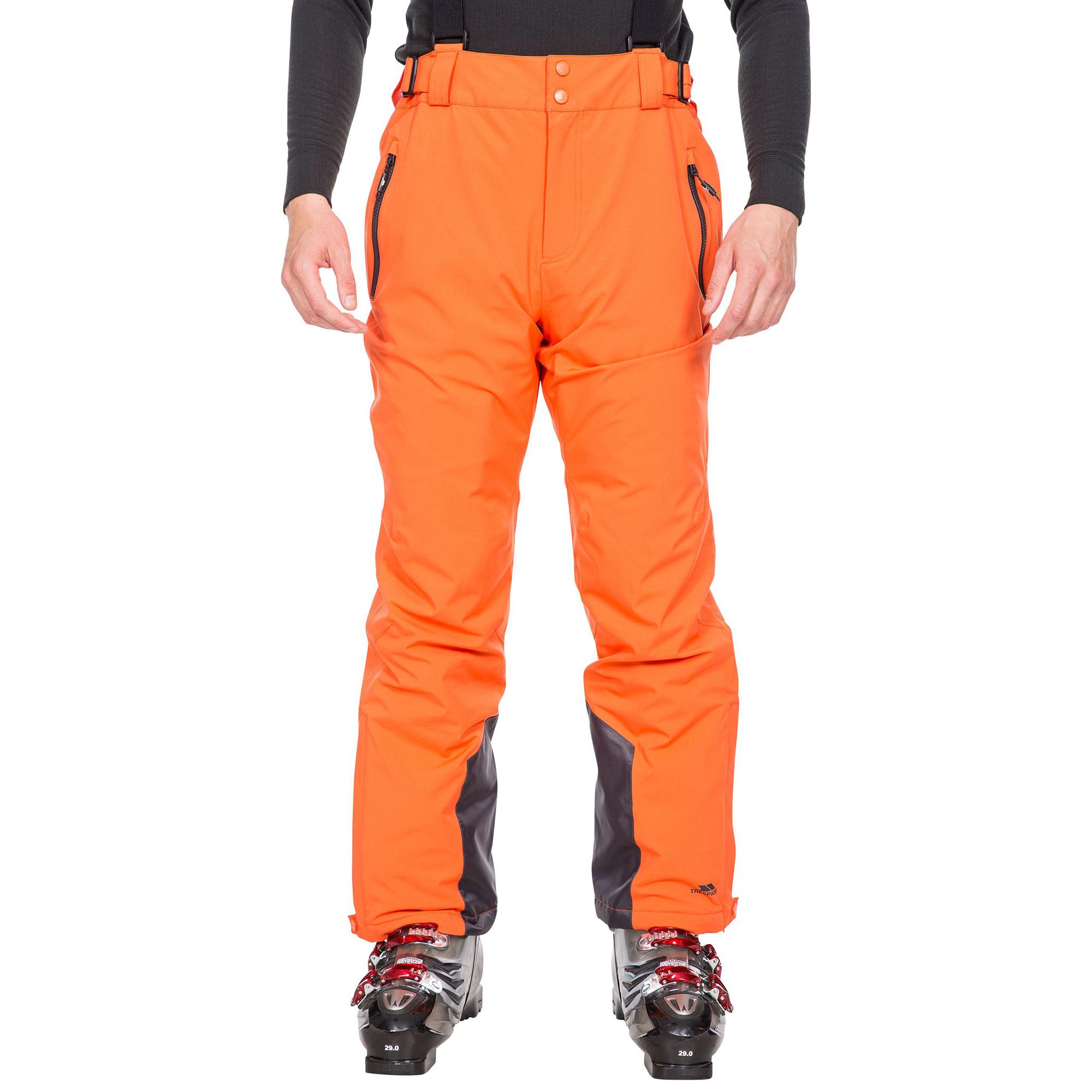 Trespass Mens Trevor Ski Trousers (3XL) (Orange)