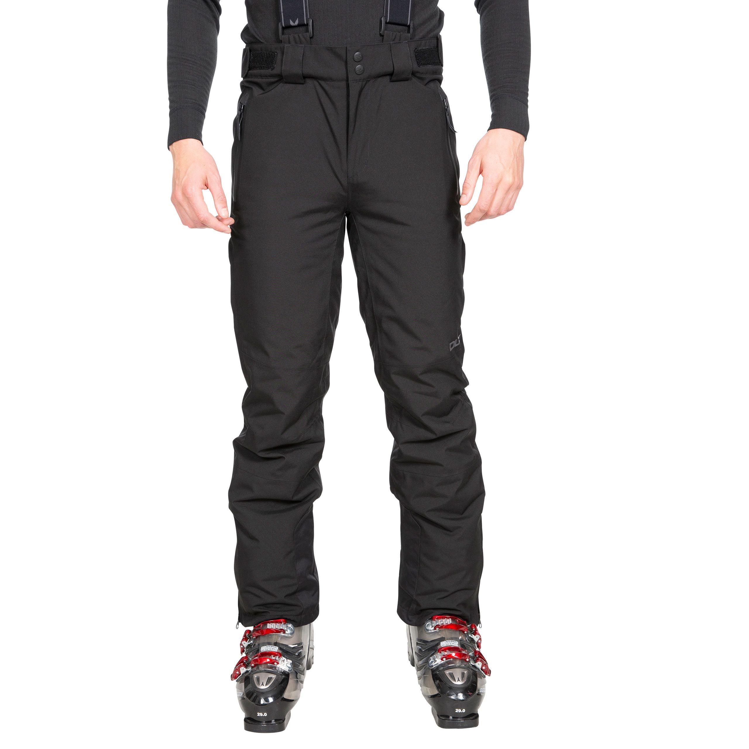 Trespass Mens Trevor Ski Trousers (XXL) (Black)