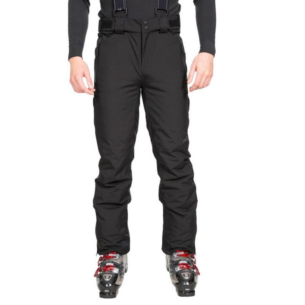 Trespass Mens Becker Ski Trousers (S) (Black)