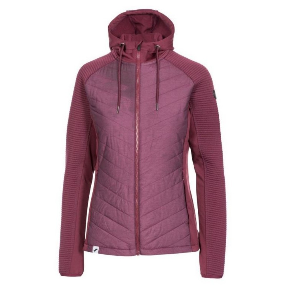 Trespass Womens/Ladies Grace Sports Full Zip Hoodie (XXS) (Fig)