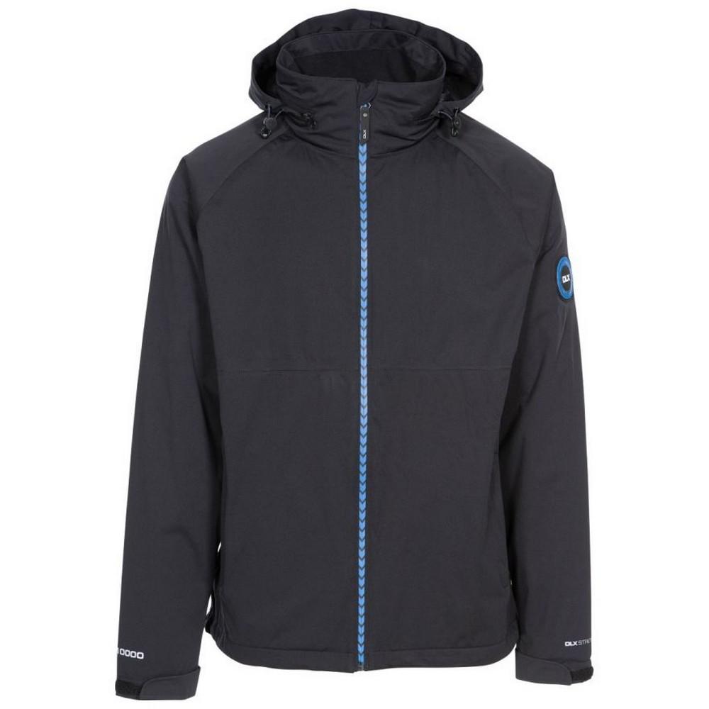 Trespass Mens Kyle DLX Waterproof Jacket (L) (Black)