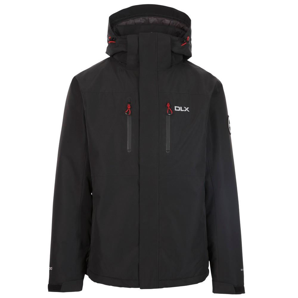 Trespass Mens Oswarm Waterproof Jacket (M) (Black)