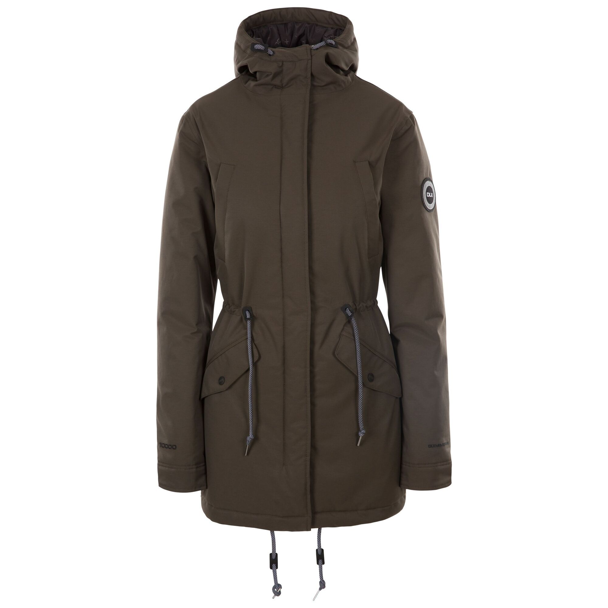 Trespass Womens/Ladies Mae DLX Jacket (XXL) (Ivy)