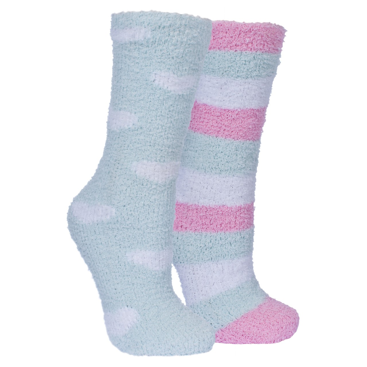 2 Pair Pack TP722 Trespass Womens//Ladies Snuggie Fluffy Tube Socks