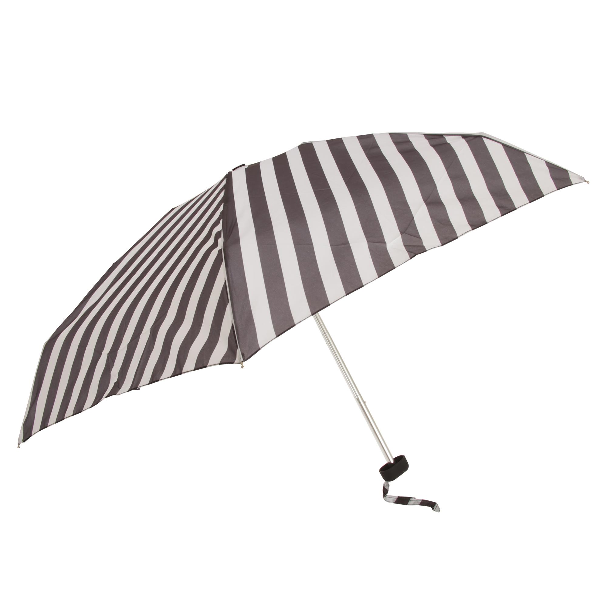 X-brella Womens//Ladies Monochrome Compact Umbrella UM292