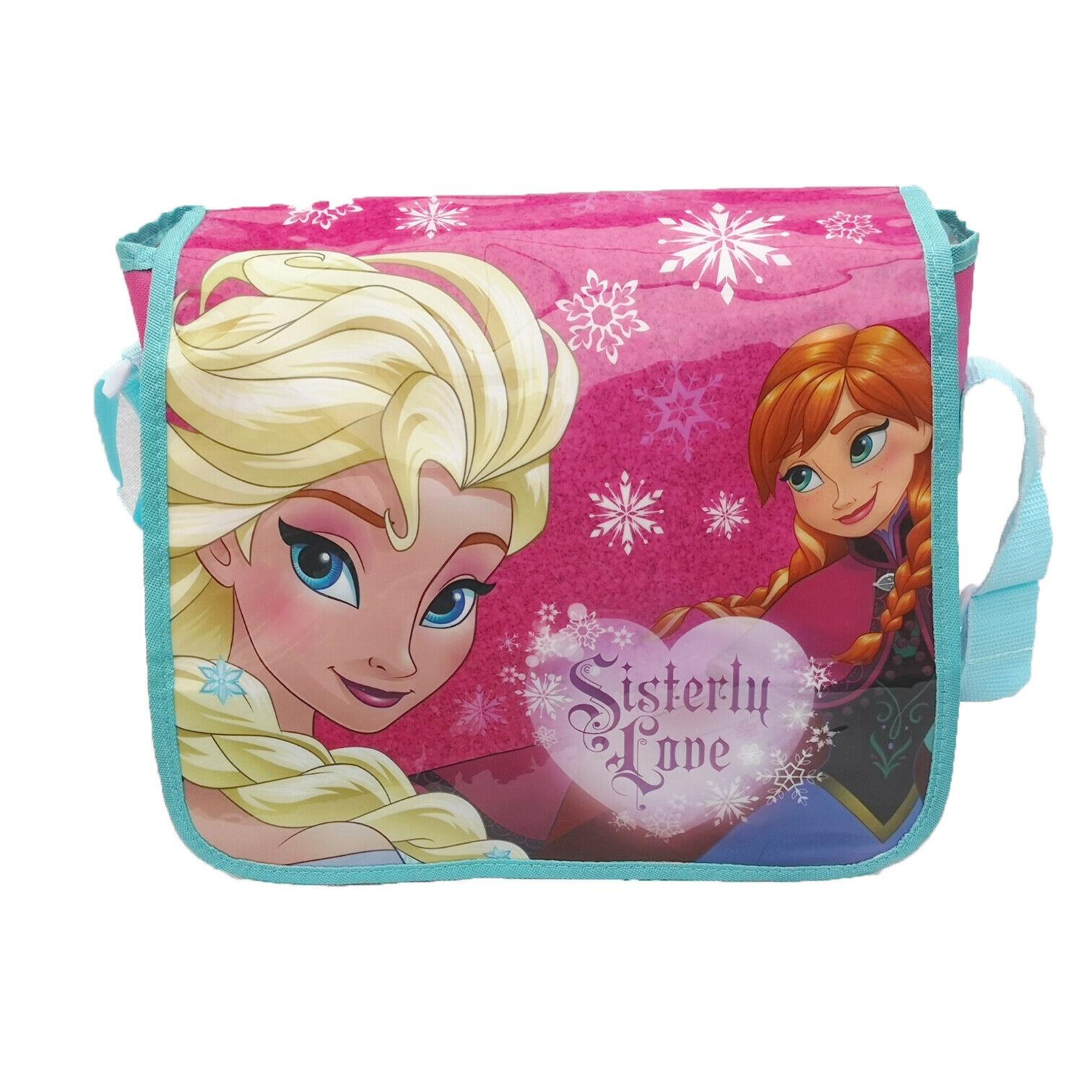 Frozen Childrens/Kids Sisterly Love Messenger Bag (One Size) (Pink)