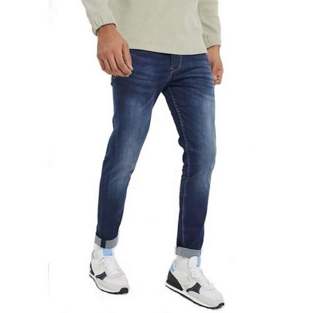 Pepe Jeans Mens Finsbury Trousers (34/34) (Denim)