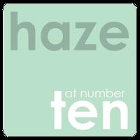 Haze at number 10 Logo