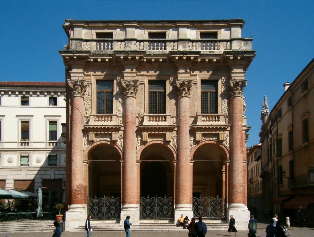 Alberti, Brunelleschi i Palladio test