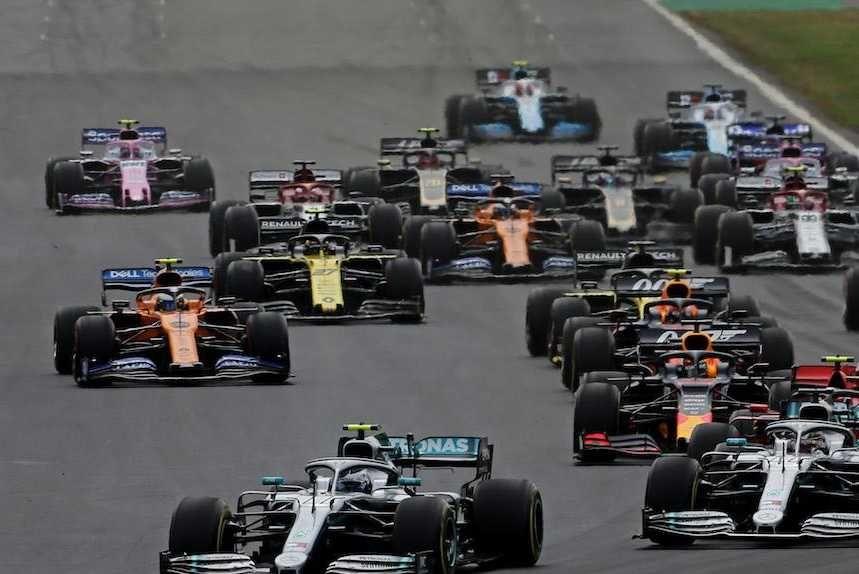 Historia F1 test