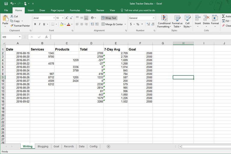 Excel - test podstawowy test
