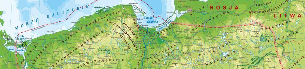 Geografia fizyczna Polski test