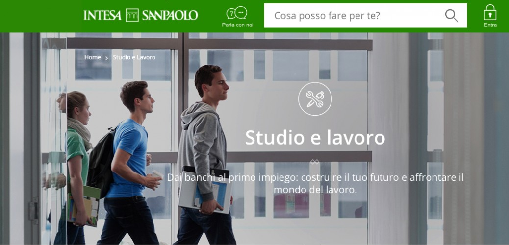 Intesa Sanpaolo Builds Your Future With You Brandmemo