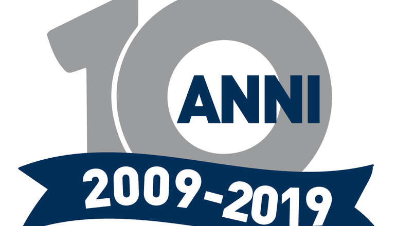 Logo m.f. 10anni