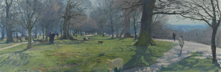 Richmond Park Messum S Fine Art Est 1963