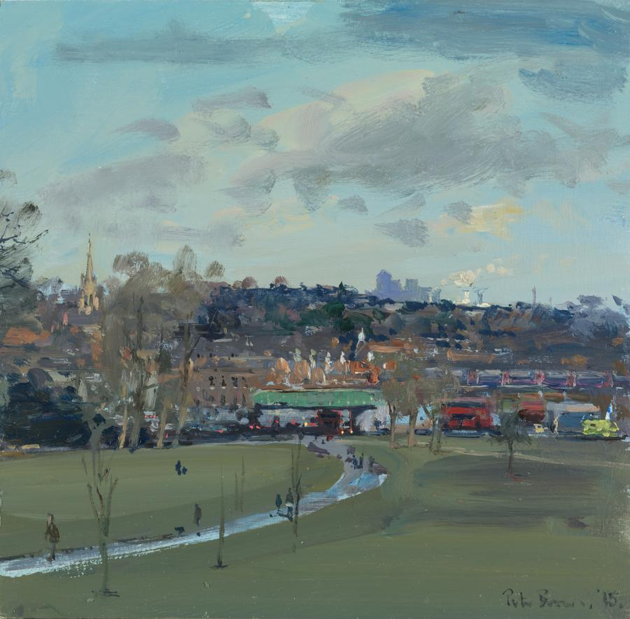 Herne Hill From Brockwell Park Messum S Fine Art Est 1963