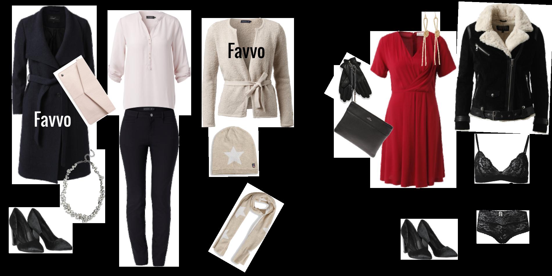 Två snygga outfits