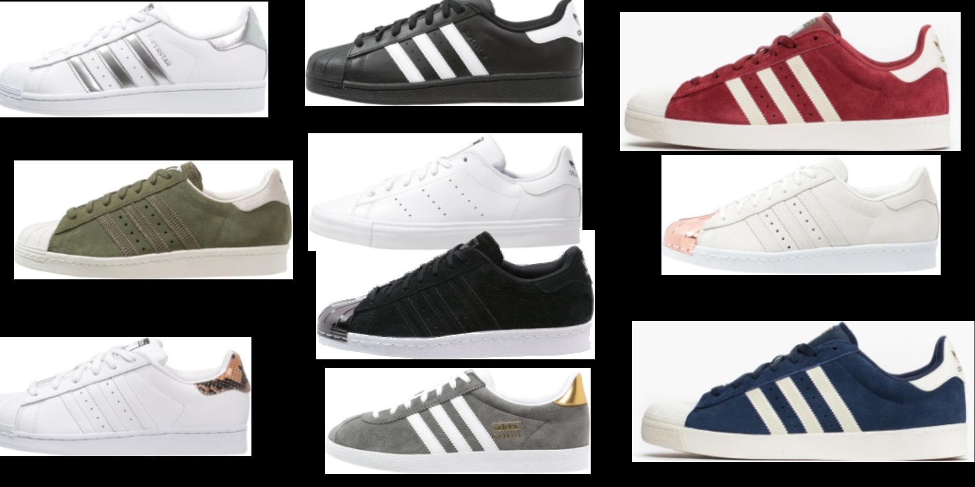 Adidas Skor Ormskinn