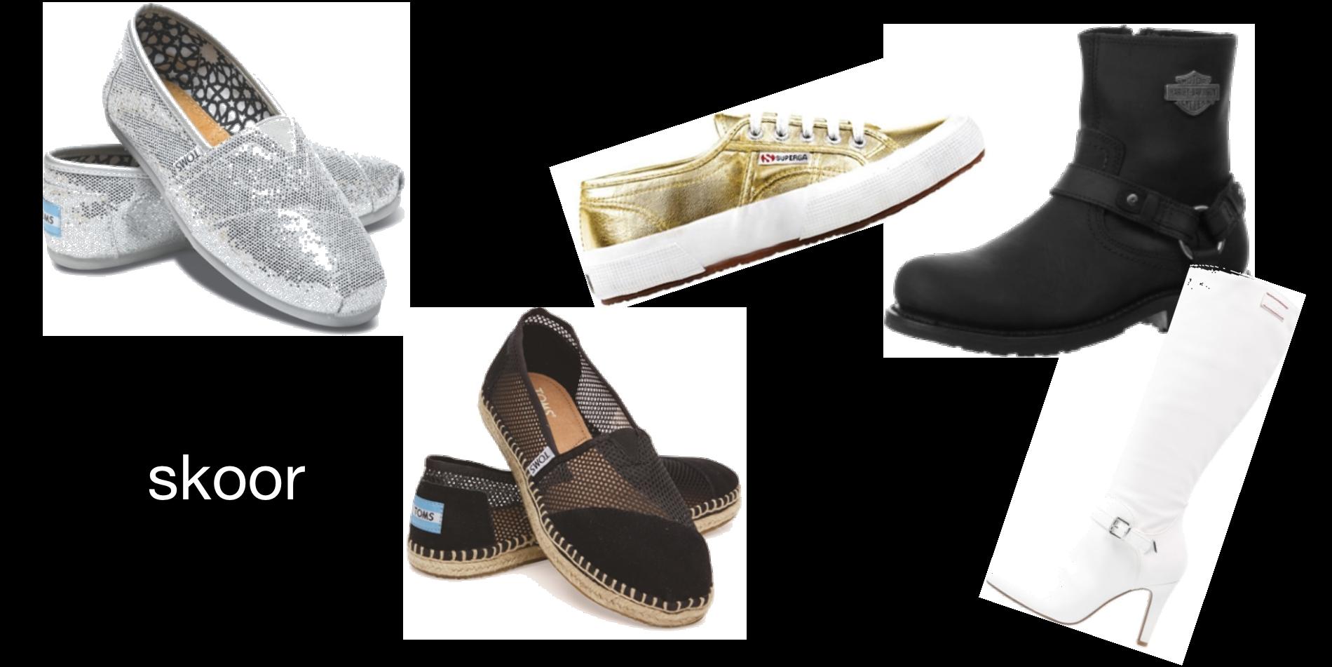 skor - tjejer