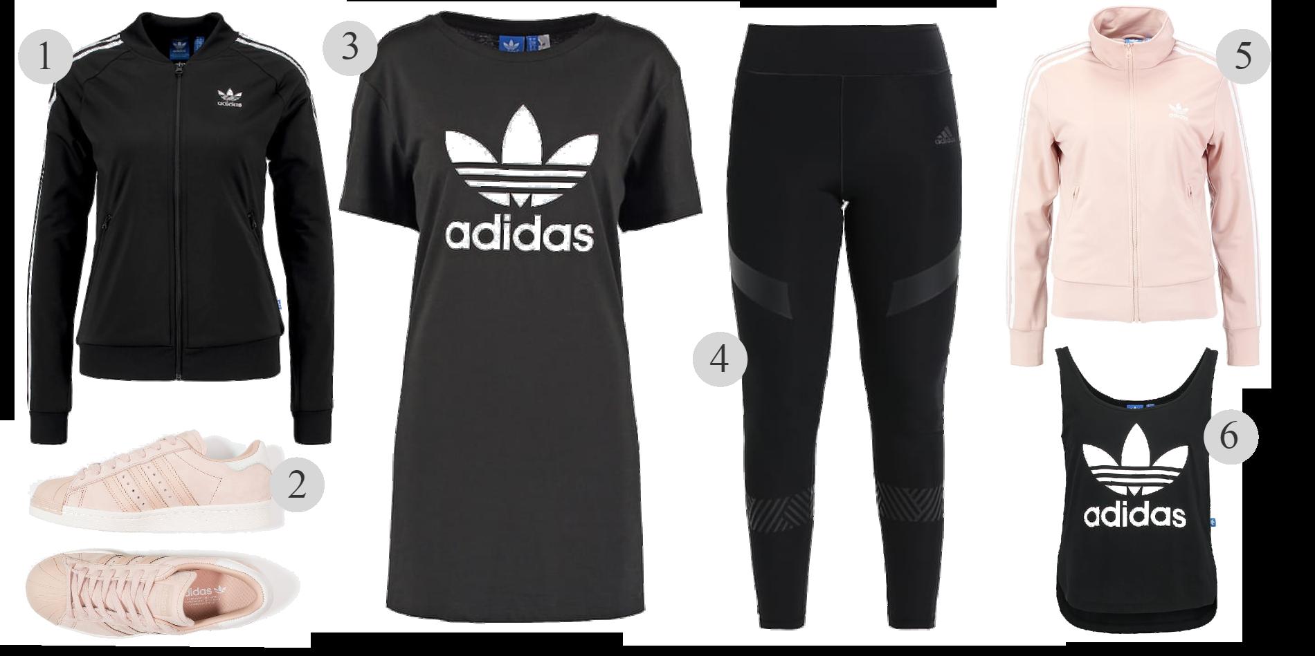 Rea på Adidas