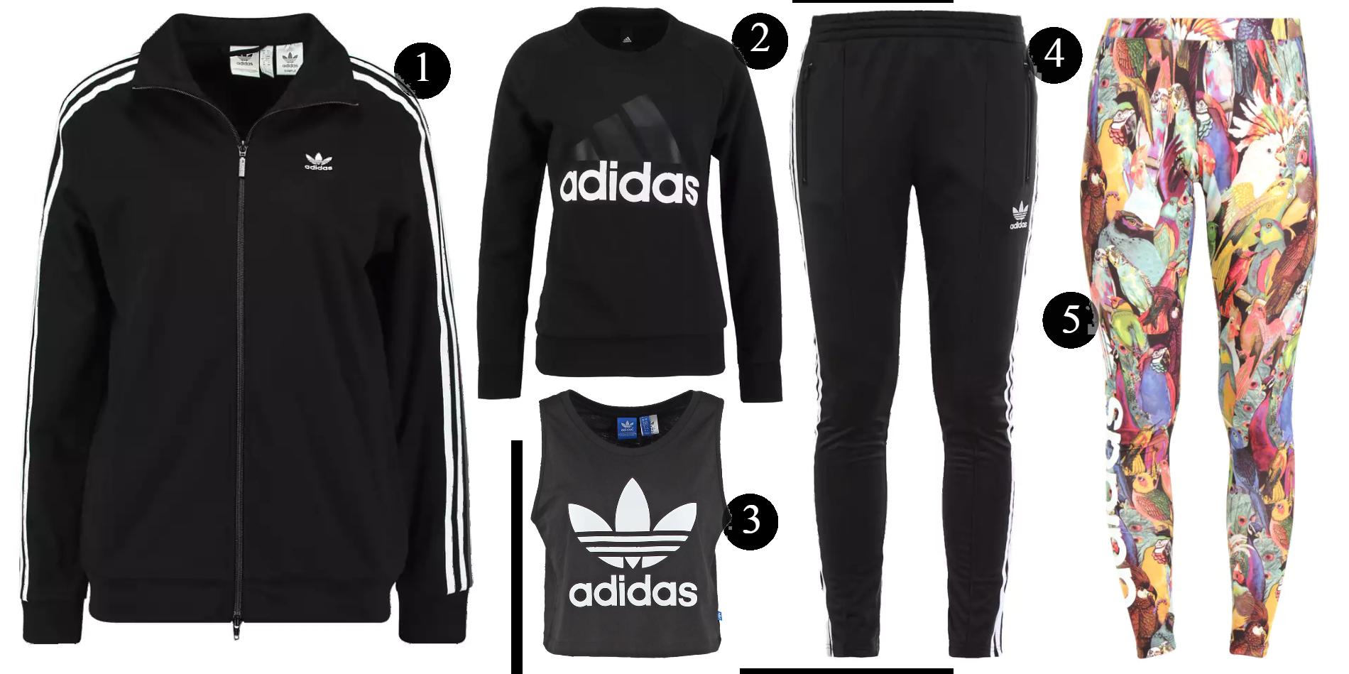 Topp 5 från Adidas rean