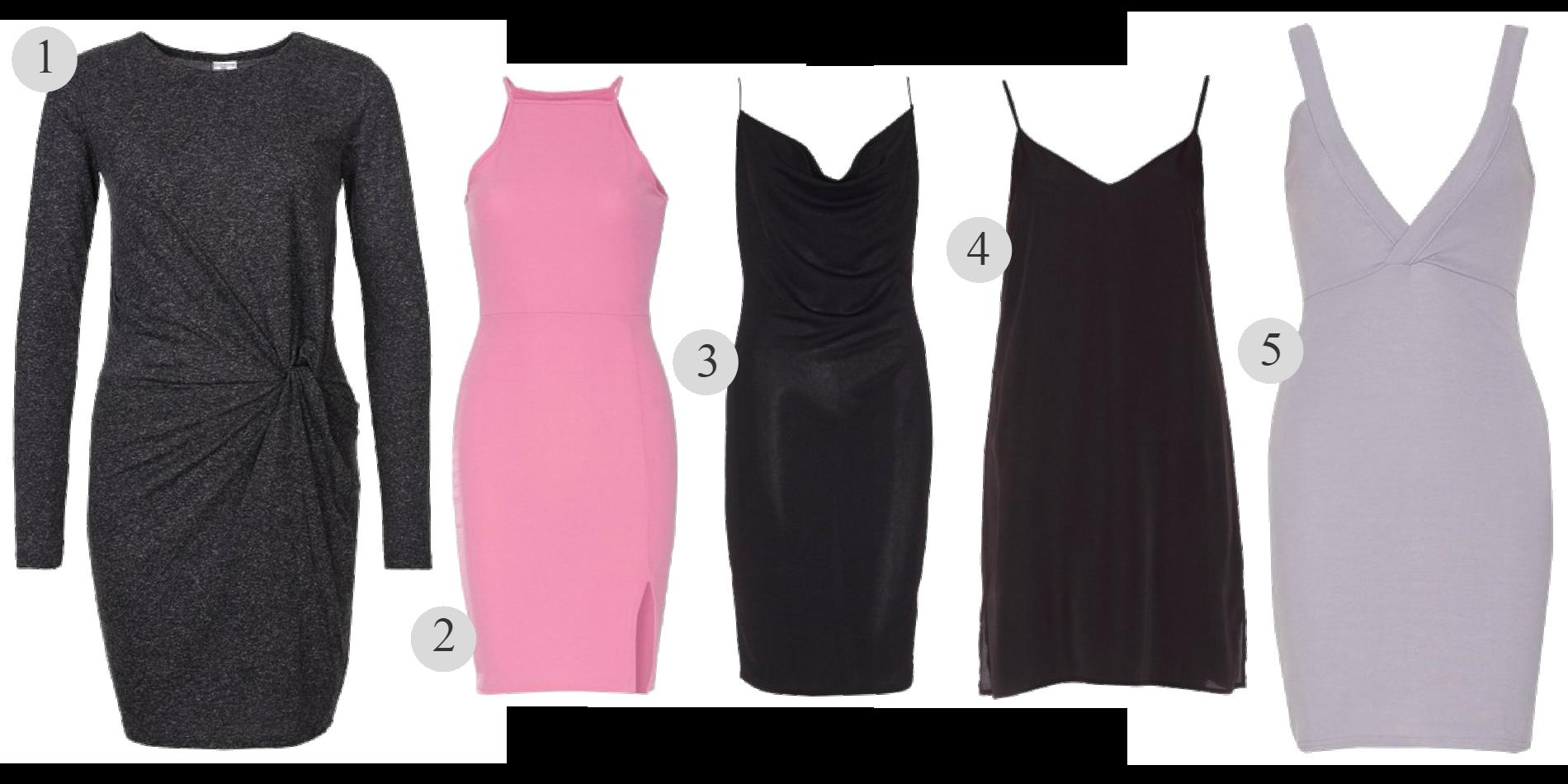 5 klänningar för under 100:-