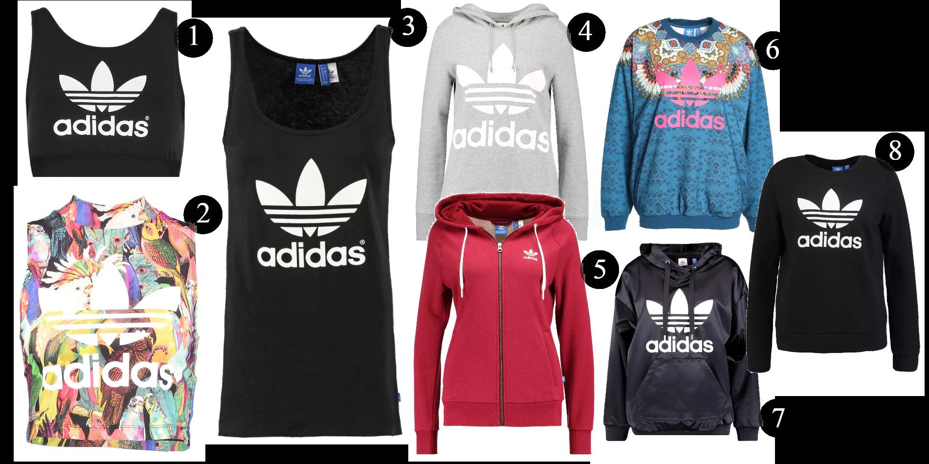Adidas toppar & tröjor: På rea