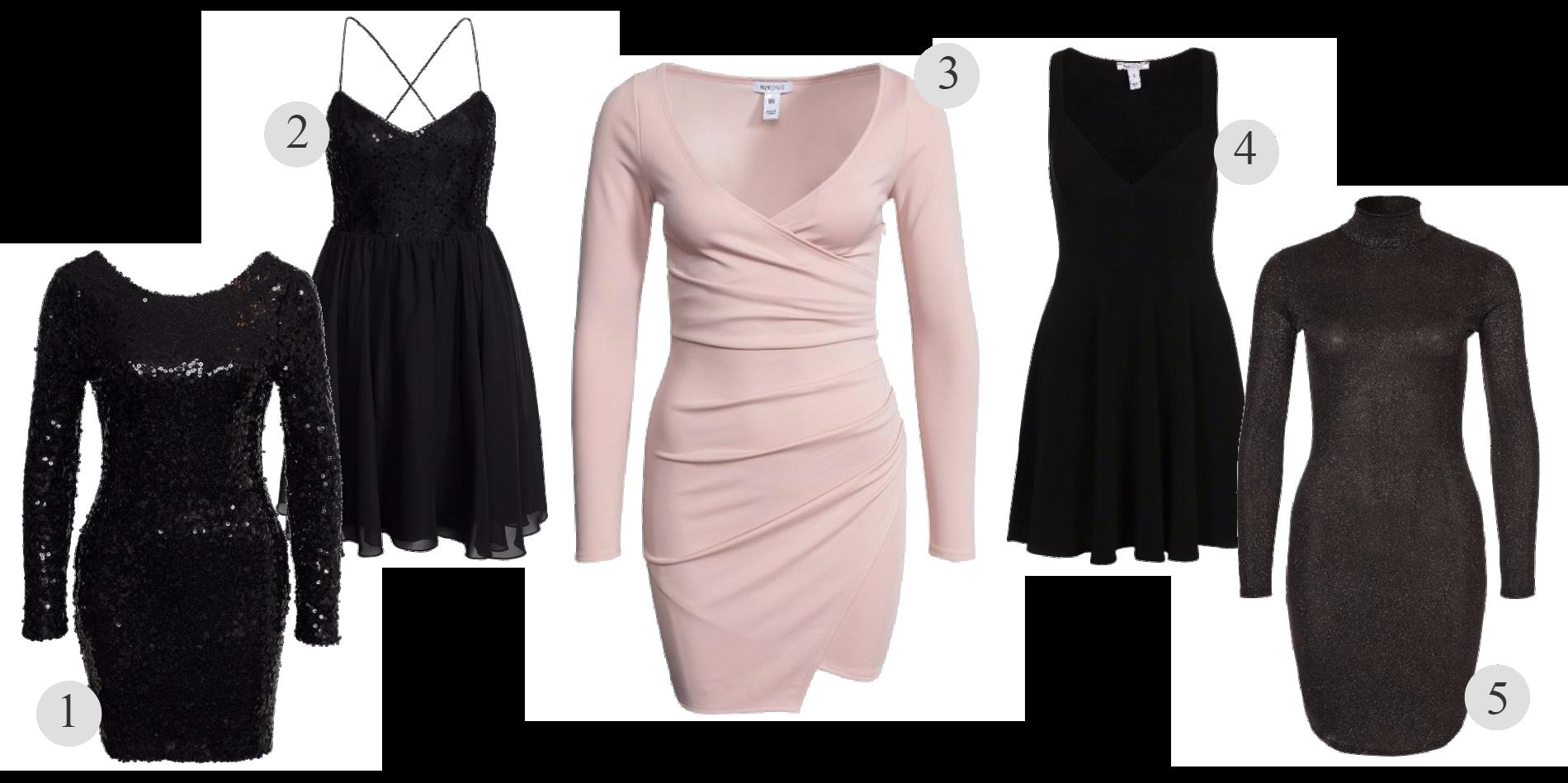 Fem klänningar för under 100:- @ Nelly