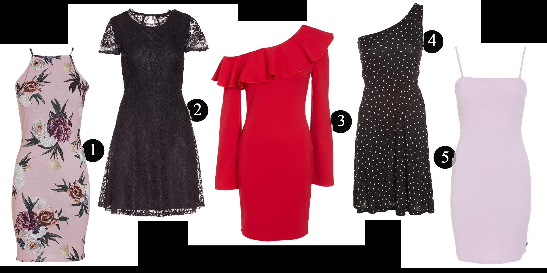 Fem klänningar för under 80:-