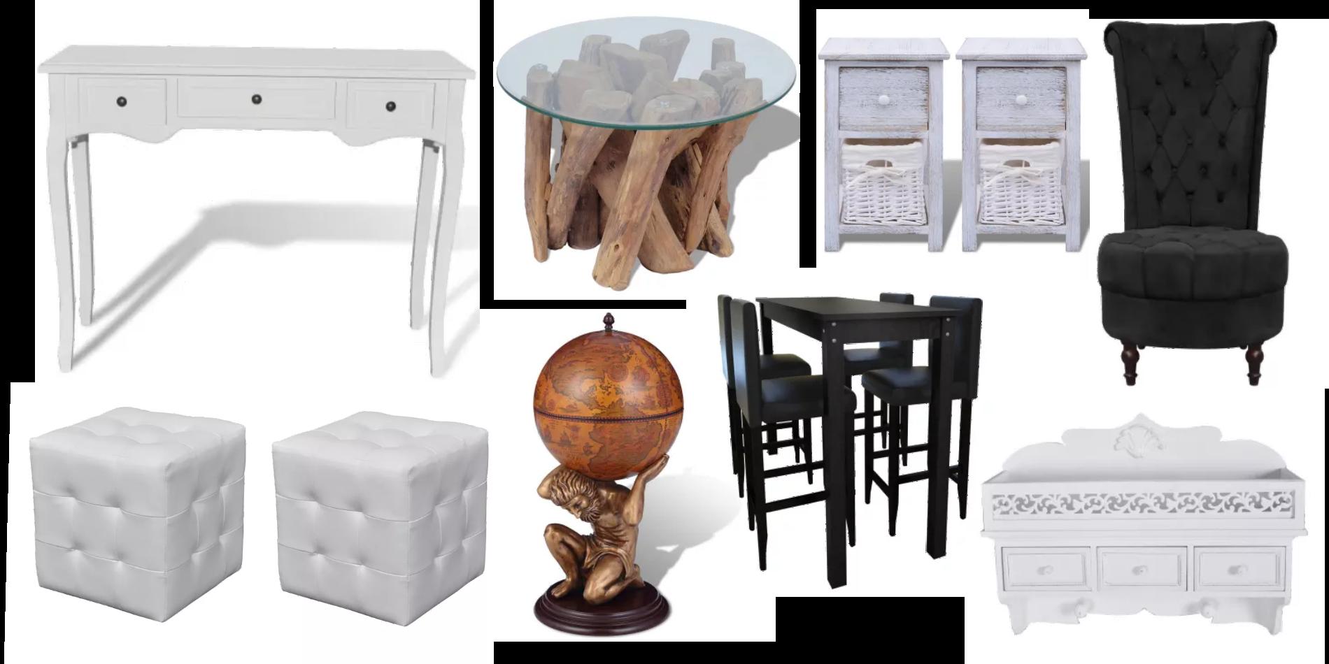 Möbler på erbjudande