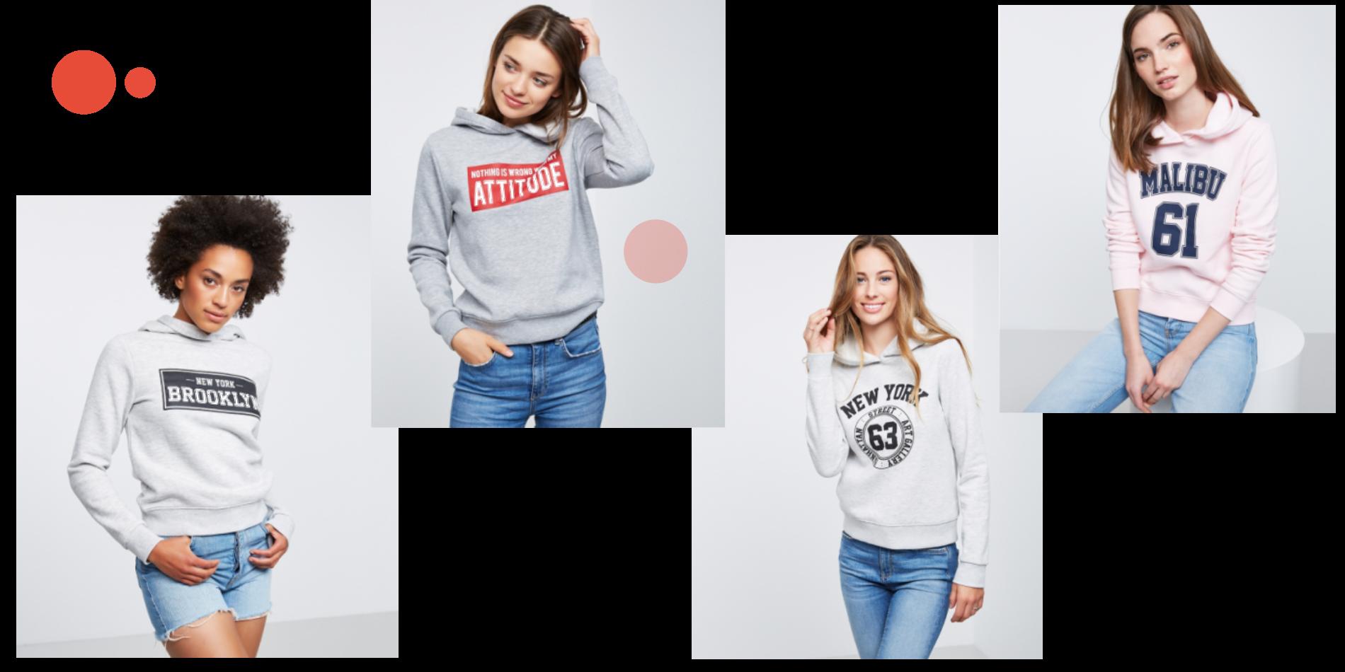 Ginas hoodies