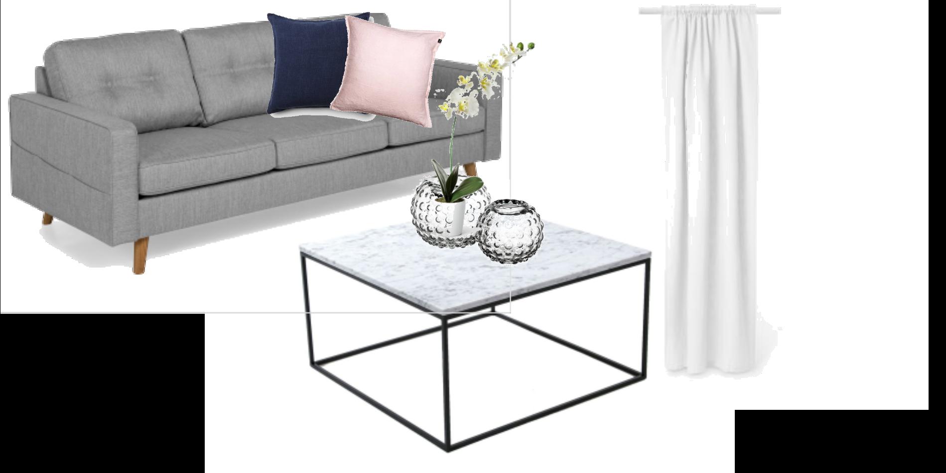 Lägenhetsinspo - vardagsrum