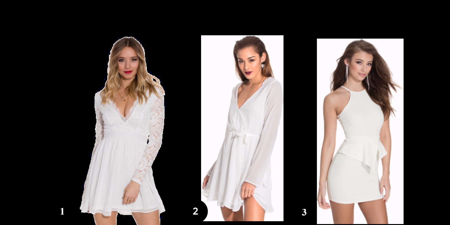 3 Little White Dresses #Nelly