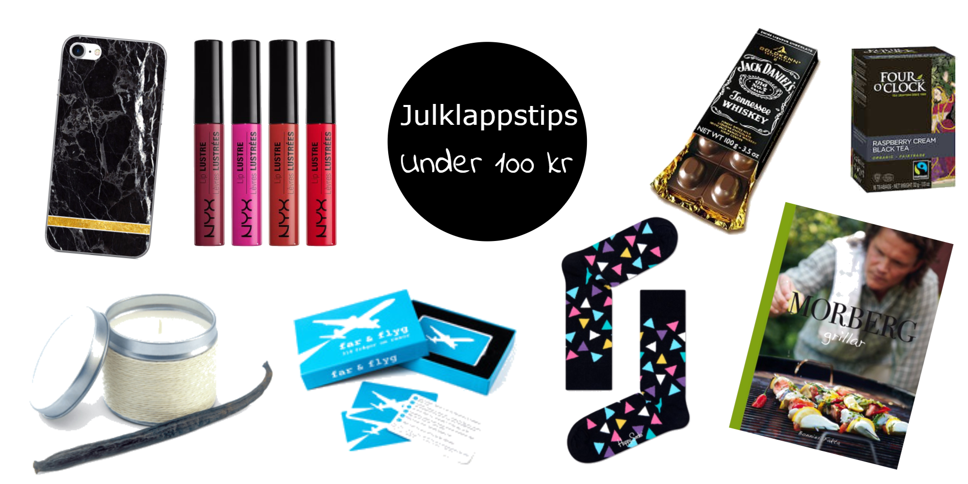 Julklappstips - Under 100 kr