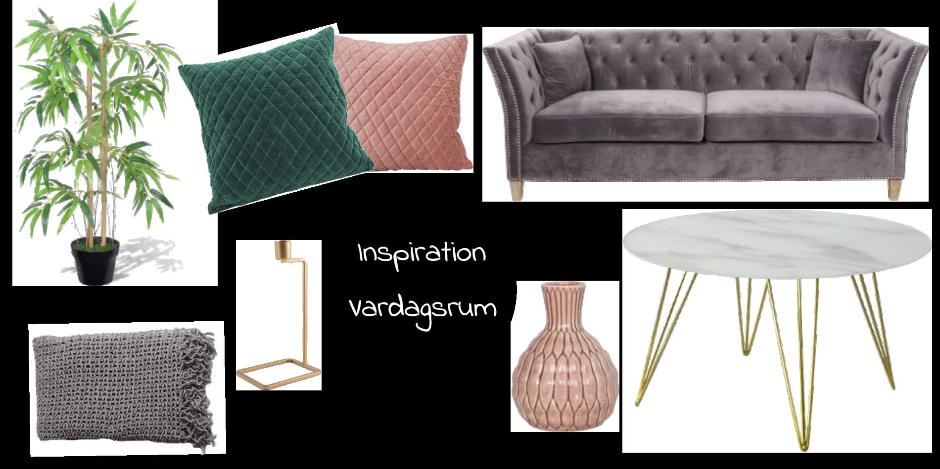 Inspiration - Vardagsrum