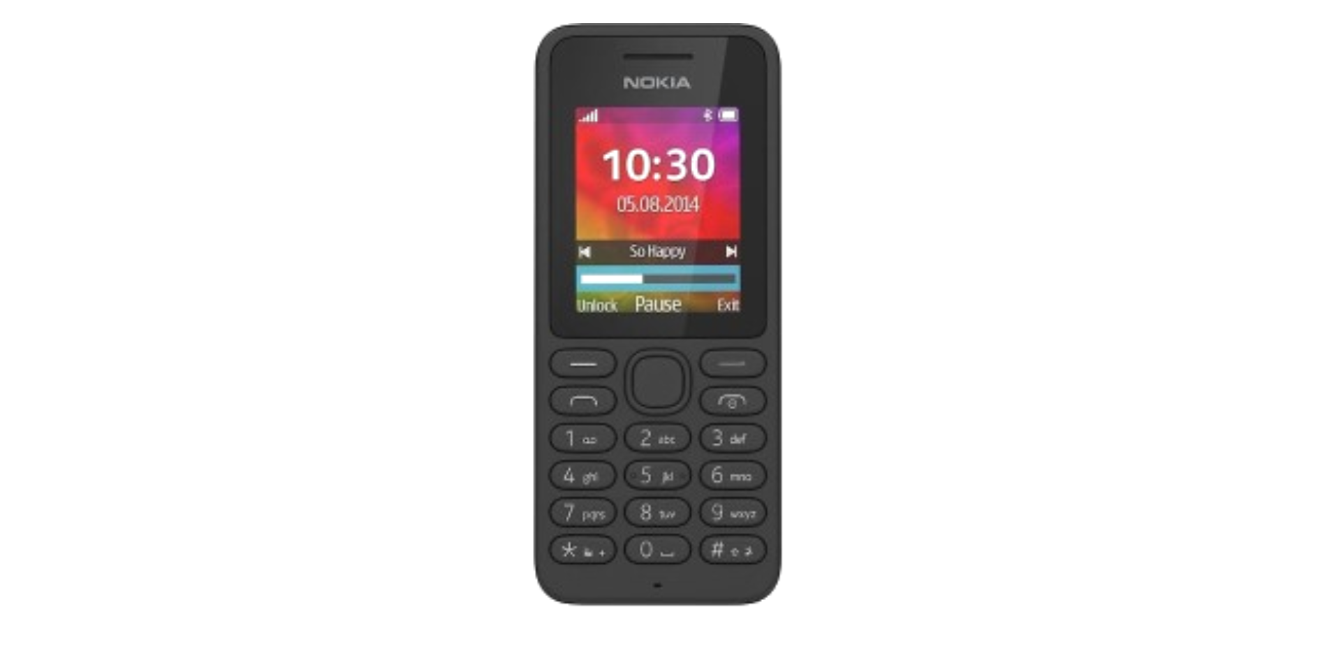 Min första mobil.