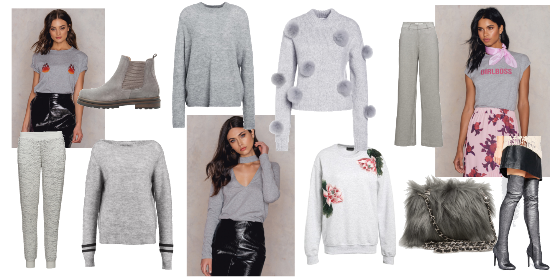 MONDAY WISH LIST // A TOUCH OF GREY