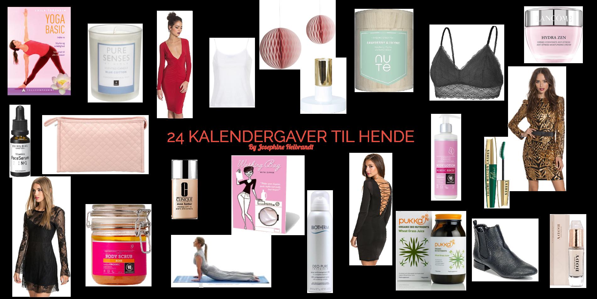 24 IDEER TIL DIN KVINDES PAKKEKALENDER