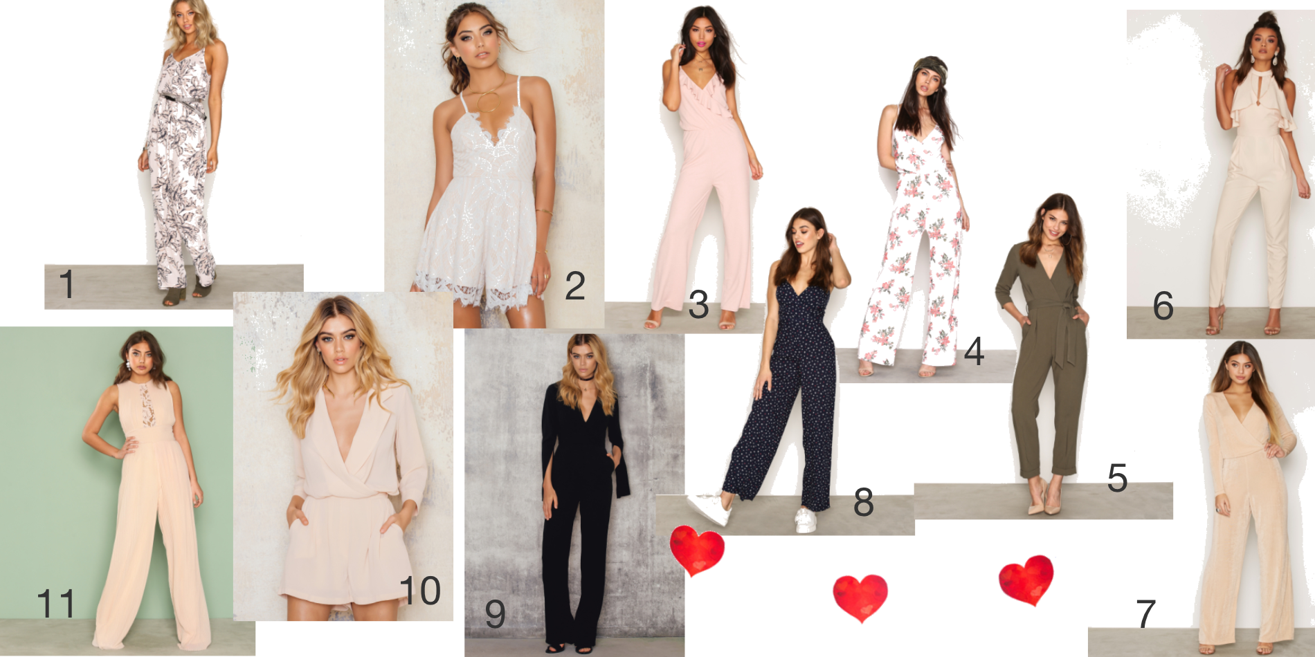 11 Favoriter av Jumpsuit