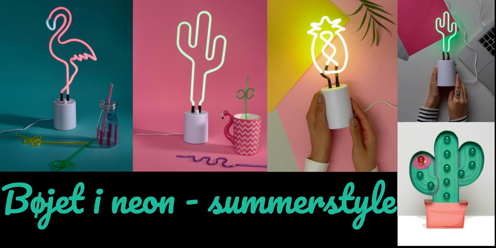 Bøjet i neon - summerstyle