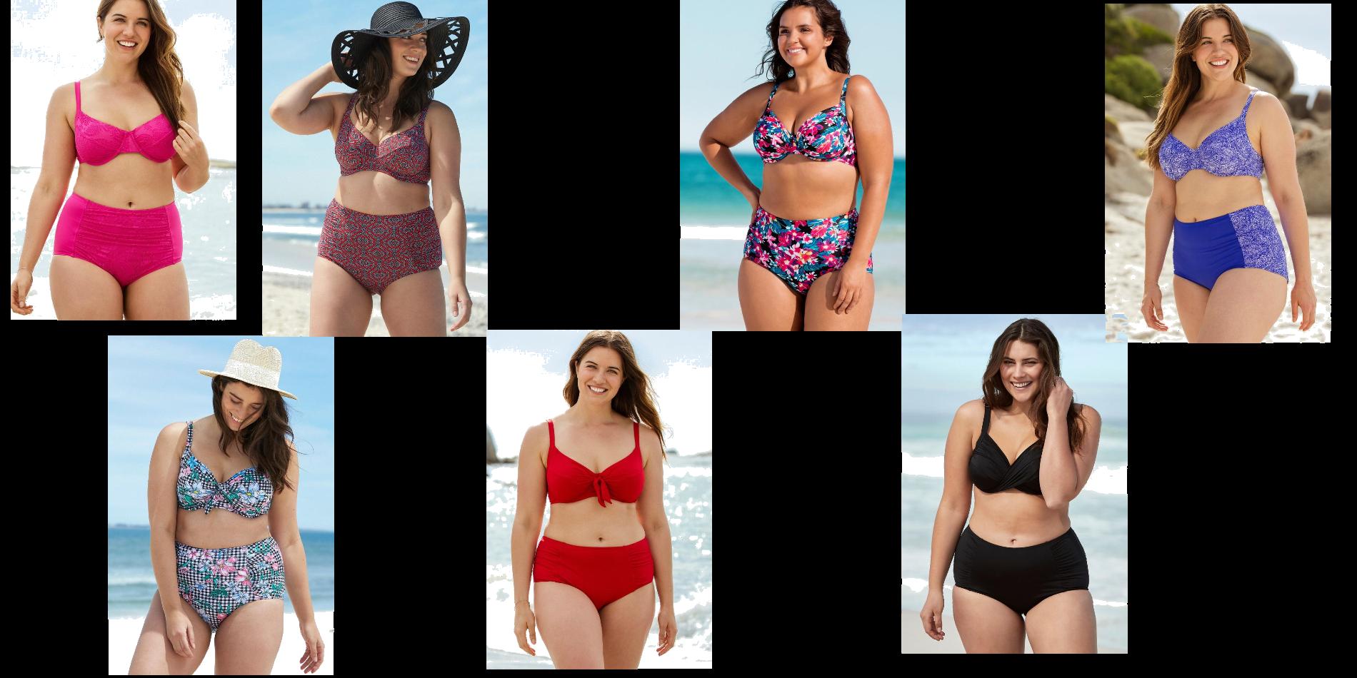 Pretty plus size Bikinis!