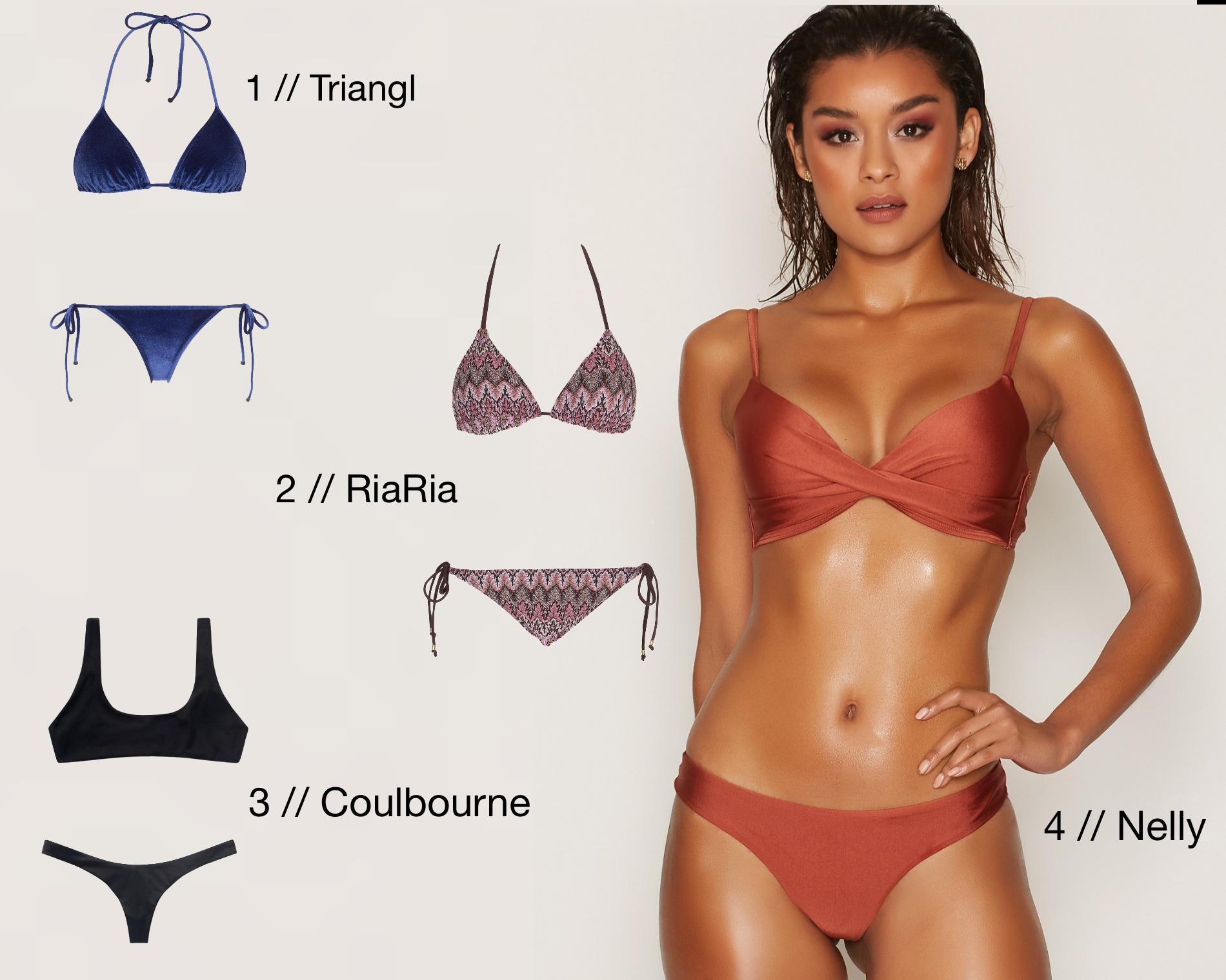4 bikinis for summer