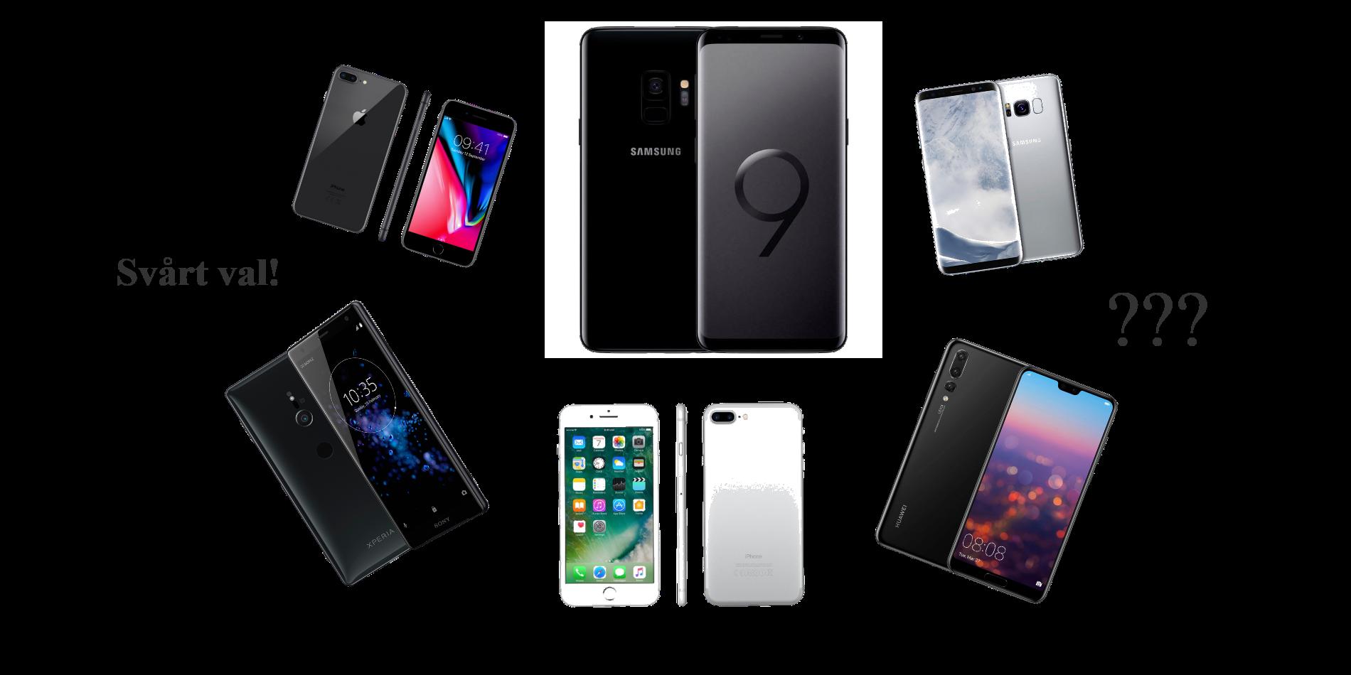 Vilken smartphone ska man ha?