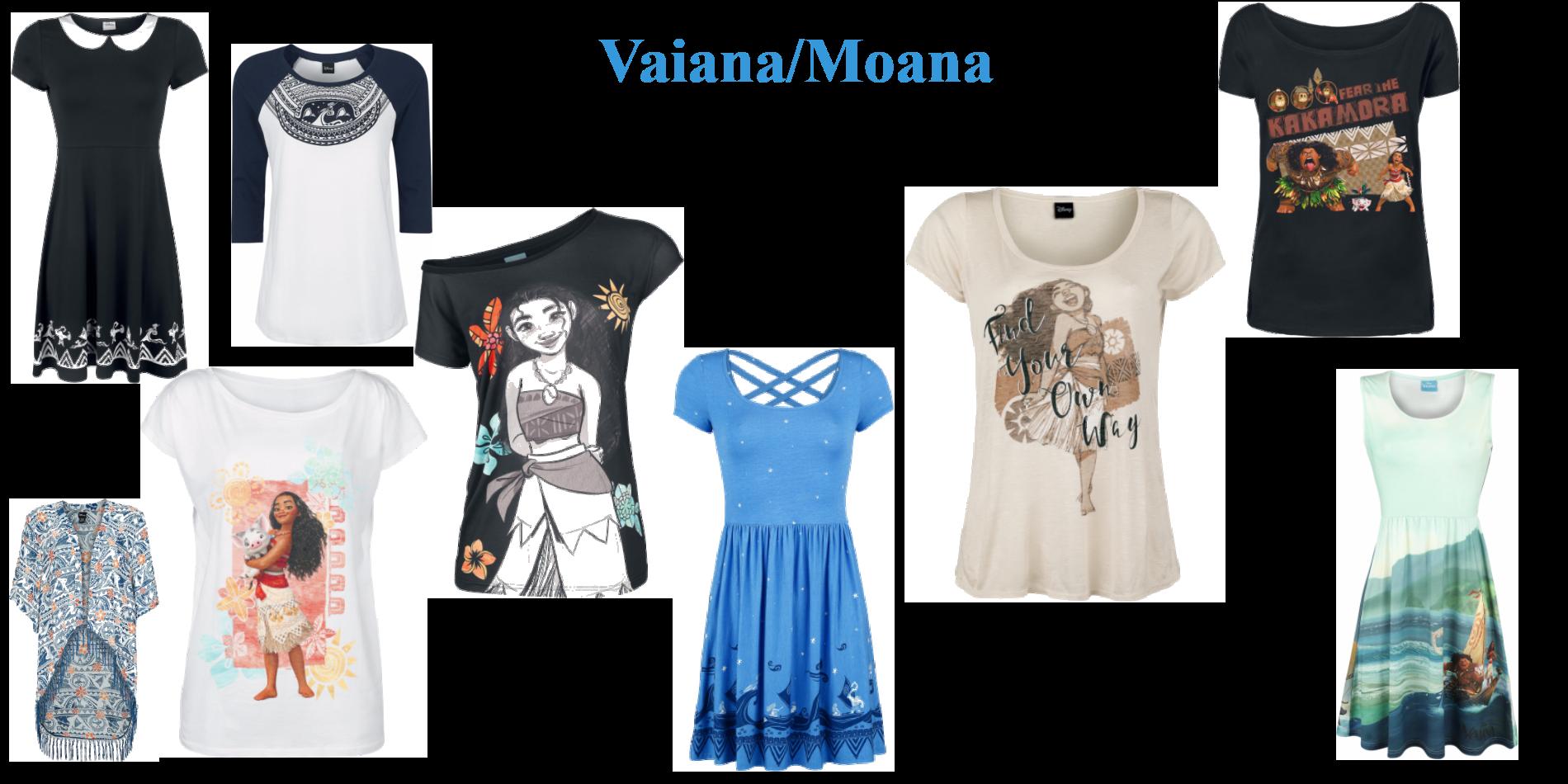 Fira Vaiana med nya kläder