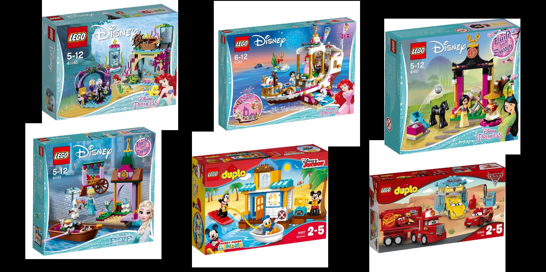Disney Lego på Lekmer
