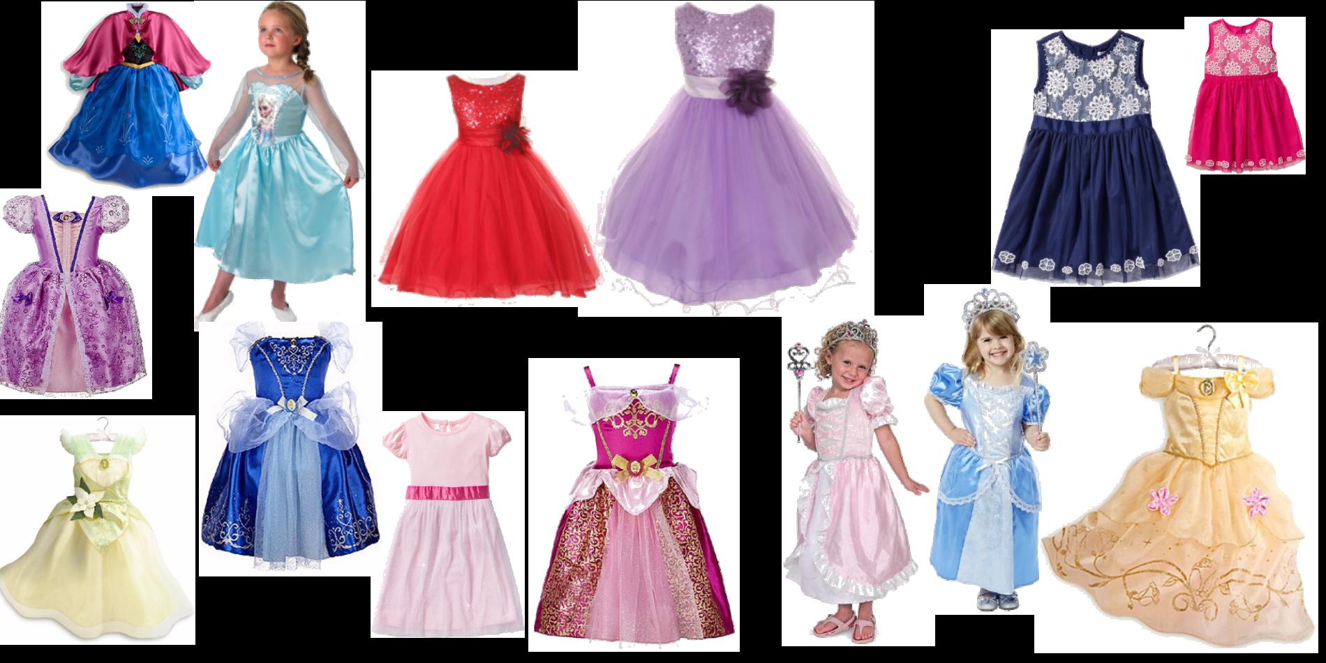 Prinsessklänningar