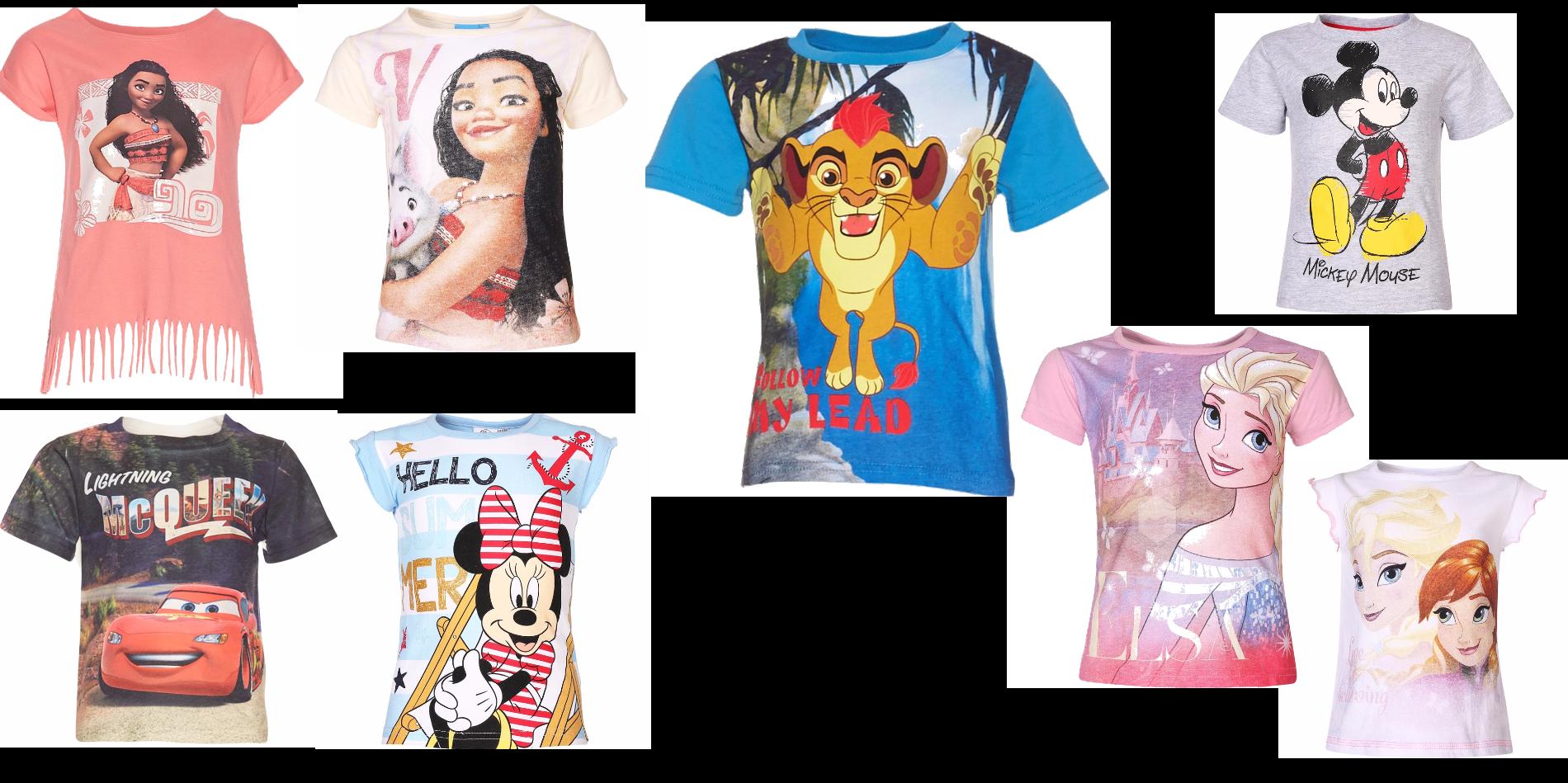 Nya Disney barntröjor med rabatt