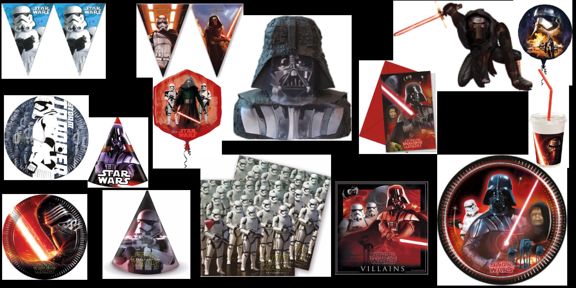 Kalas med Star Wars tema - The Dark Side