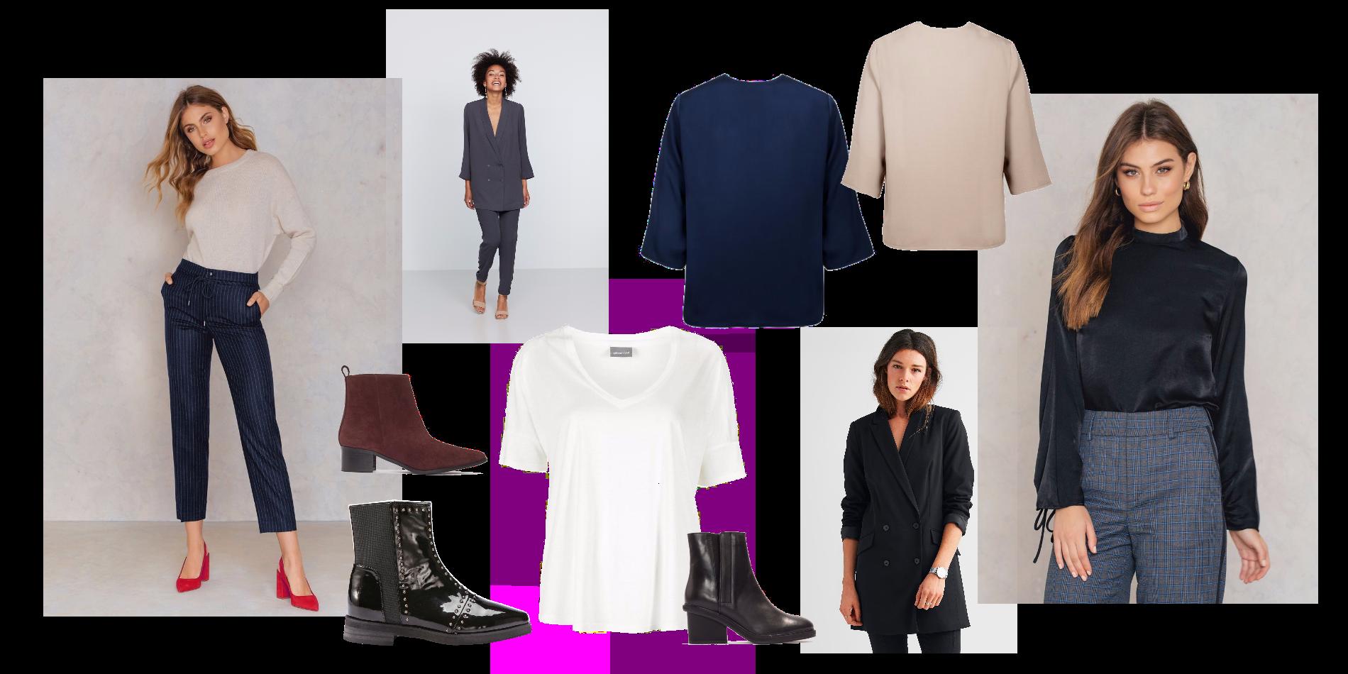 Här är en liten moodboard inför en intervju- tillbaka till den basic  färgskalan och minimalistiska snygga kläder. För mig känns den här stilen  väldigt ... cfbbf23b212c5